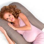 Pregnant Woman On Pillow